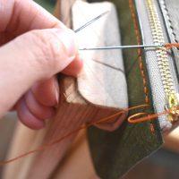 レザークラフトGUILD手縫い