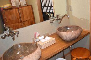 酵素風呂雅洗面台