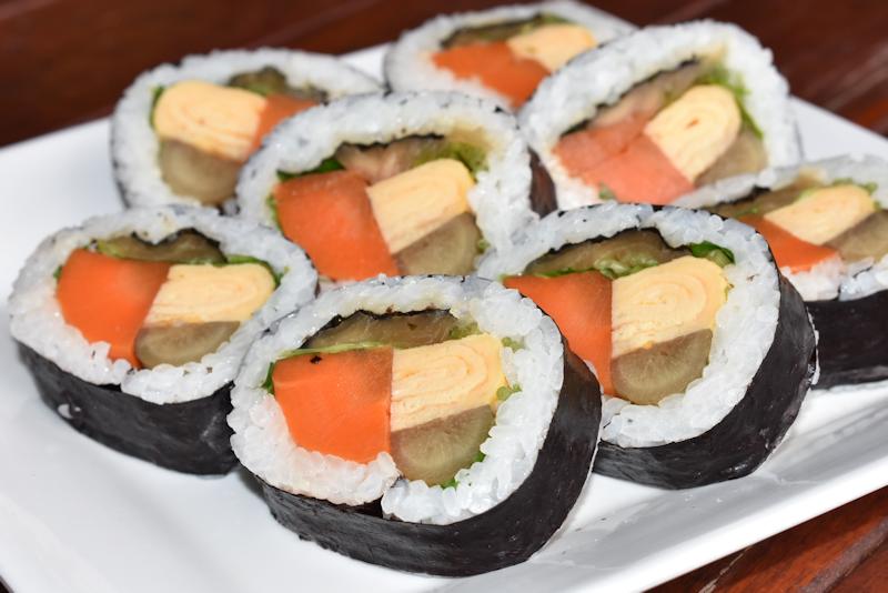 わにぶち巻き寿司