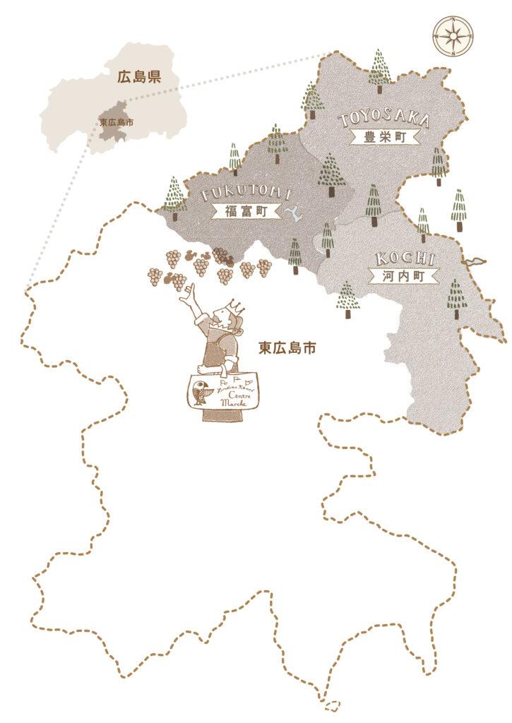 県央マルシェマップ